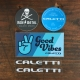 Caletti sticker pack